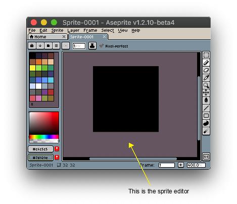 Aseprite Docs Sprite Editor
